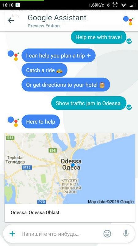 google-allo-traffic-jams