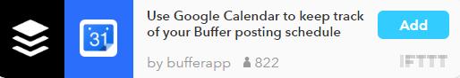 ifttt-buffer-calendar