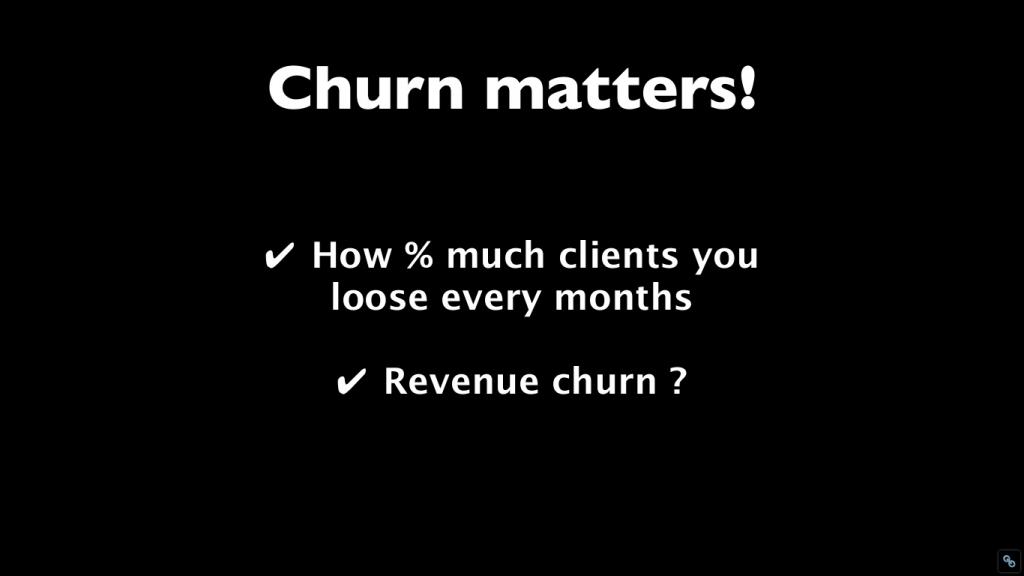 Churn matters!