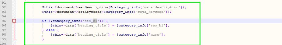 Как внедрить мета-теги на OpenCart: простой пошаговый мануал